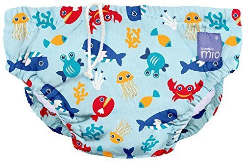 Bambino Mio, pañal bañador, deep sea blue, grande (1-2 años)