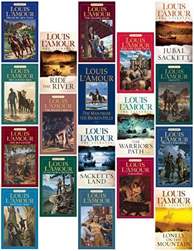 The Sackett Series 18 Book Set