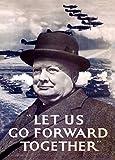 Vintage british 2. Weltkrieg 1939–45Propaganda Let Us