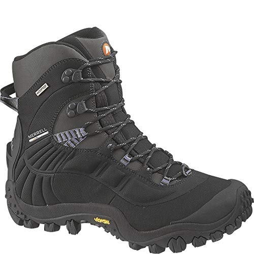Merrell Men's CHAM Thermo 8 WTPF SYN Hiking Boots, Black, 10 M...