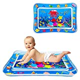 SUNSHINE-MALL Water mat for Baby,Tummy time Toys,Inflatable Play Mat Water Cushion Infant Toys, Fun Early Development Activity Play Center for Newbor(70x50cm)
