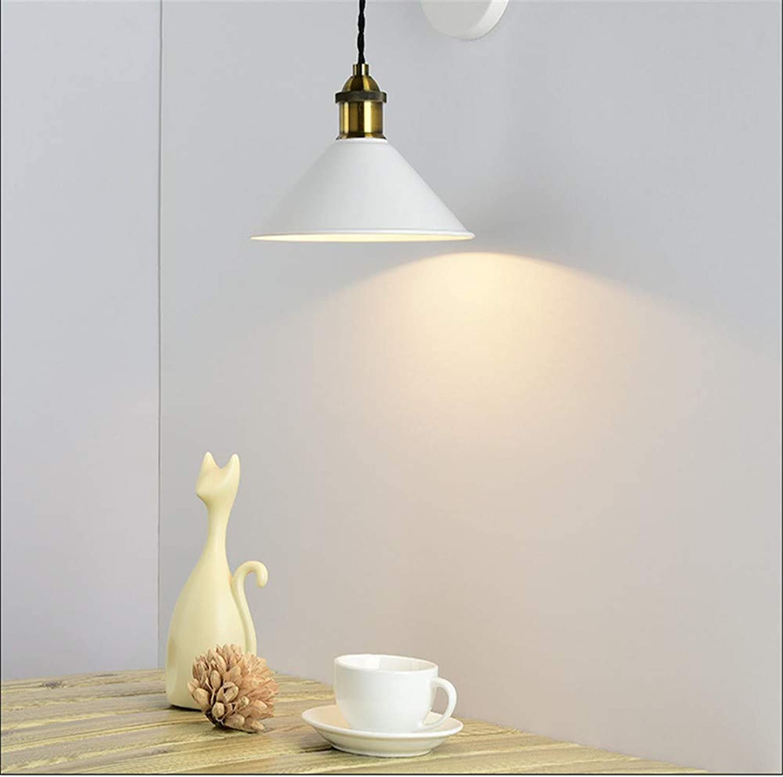 Newled Wandleuchte Vorzügliche Hauptdekoration - Farbe Kreative Schlafzimmer Nachttischlampe Einfache Wohnzimmerlampe 300  210Mm, Wei Wandleuchte