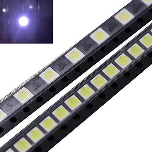 LHQ-HQ - Accesorios para tira de luz, 50 unidades, 2 W, 6 V, 3535 LED, color blanco frío, para aplicación de reparación de retroiluminación LG TV
