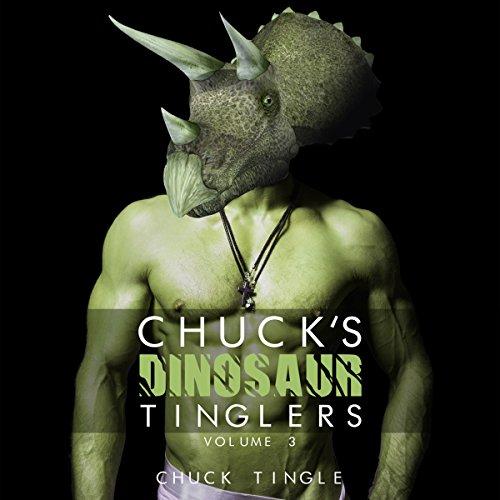 Chuck's Dinosaur Tinglers audiobook cover art