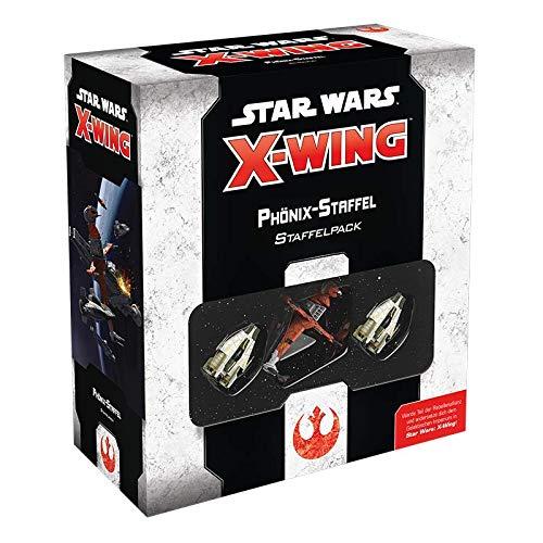 Asmodee Star Wars: X-Wing 2.Ed. - Phönix-Staffel, Erweiterung, Tabletop, Deutsch