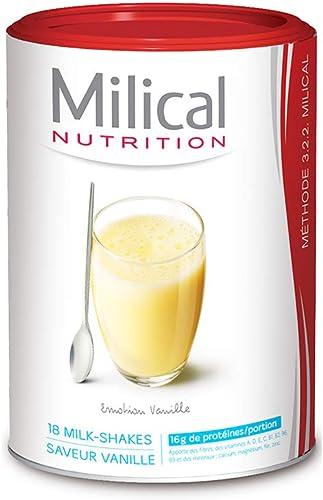 Milical 18 Milk-Shakes Hyperprotéinés - Vanille