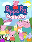 Peppa Pig Malbuch (Illustriert): 2020 hochwertige Malbuch mit Peppas und Freunde Abenteuer