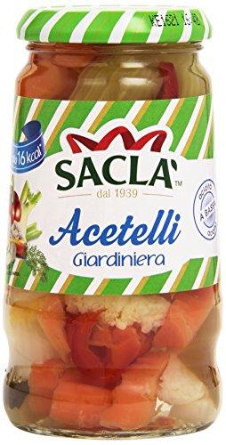 Saclà Acetelli, Giardiniera, Verdure Miste all'Aceto di Vino - 290 g