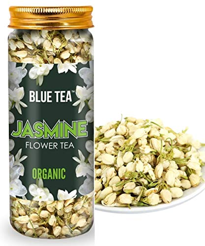 BLUE TEA- Organic Jasmine Flower Tea for Slimming Body and Stress Relief | 30g - 50 Cups |