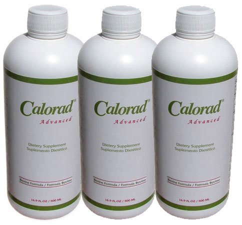 3 Fresh Original Calorad Advanced Bovine Weight Loss! Liquid Collagen