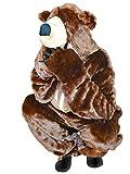 Braunbär-Kostüm, F67 Gr. XL, für hoch gewachsene Männer und Frauen, Bären-Faschingskostüm,...