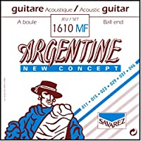 サバレス アコースティックギター弦 ジャズギター弦 ジプシーギター用 SAVAREZ ARGENTINE JAZZ STRINGS (1610MF Ball End,Light, 1セット)