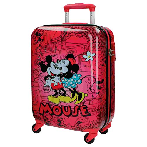 Disney - RETRO COMIC Mickey & Minnie - Equipaje Infantil 33L - 55cm