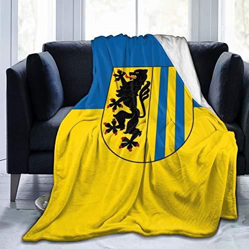 Leipzig Sachsen Deutschland Fleecedecke Ultra-Soft Micro für Couch oder Bett Warmwurfdecke Ganzjahres-Sofadecke
