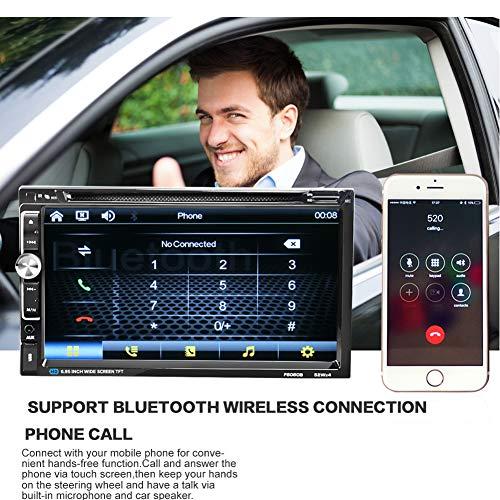 Kampre Dual Ingot-Bluetooth auto-dvd-kaartspeler, 6,95 inch, high-definition touchscreen-HD-grootbeeld-speler, auto-dvd-kaartspeler met HD-touchscreen-dual-Ingot-Bluetooth