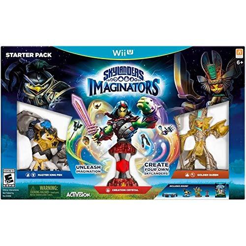 Skylanders Imaginators Starter Pack Nintendo Wii U - Master King Pen, Creation Crystal, & Golden...