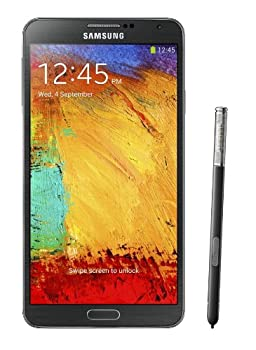 Samsung Galaxy Note 3 N900 32GB Unlocked GSM 4G LTE Android Smartphone w/S Pen Stylus - Black