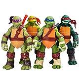 Jubasix Ninja Turtles 4 PCS Set – Teenage Ninja Turtles Action Figure - TMNT Action Figures Lalosliv 4turtles sef Figures- Ninja Turtles Toy Set - Ninja Turtles Action Figures Mutant Teenage Set