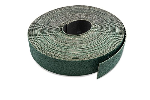 Red Label Abrasives 3 inch X 70 FT 80 Grit Zirconia Woodworking Drum Sander Roll, Cut Strips to Length