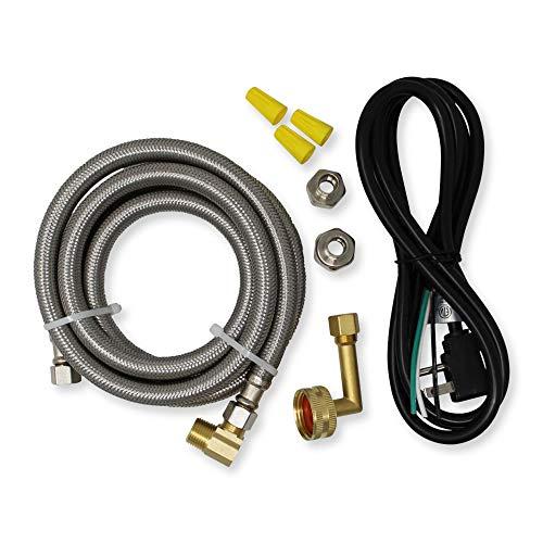 Appliance Pros PM28X329 Universal Dishwasher Installation Kit, Kitchen Sink Drain Pipe Compatible, 6