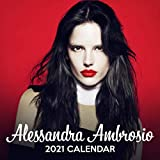 Alessandra Ambrosio 2021 Calendar: 12 Months Calendar of 2021, Jan. 2021 - Dec. 2021