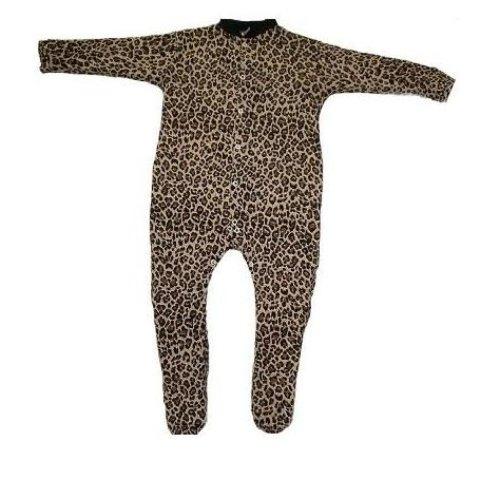 BabywearUK BabywearUK Schlafanzug Leopardenprint - 0-3Monate - British Made