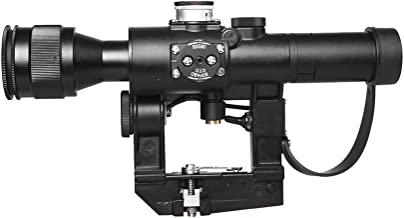 Sniper SVD Dragunov Rifle Scope SVD3-9x24First Focal Plane Sniper Hunting Riflescope FFP Illuminated Rangefinding Reticle