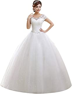 Amazon Com 50 To 100 Wedding Dresses Dresses Clothing