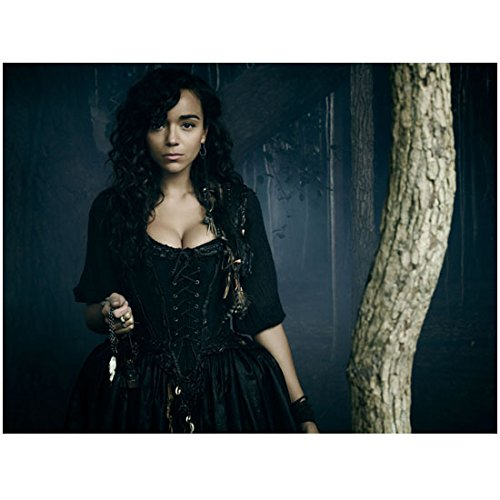 Salem (TV Show) Ashley Madekwe as Tituba by Tree 8 x 10 Inch Photo