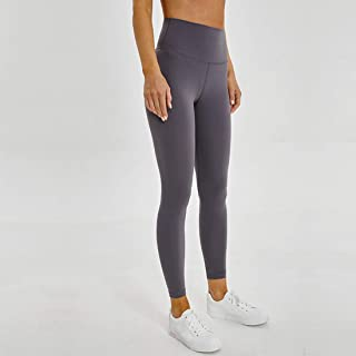 High Waist Fitness Trousers with Pockets, Yoga Pants Dries Fast Training Running Pants Elastic Casual Pants Opaque Belly Control Women Leggings Breathable Sport Tights