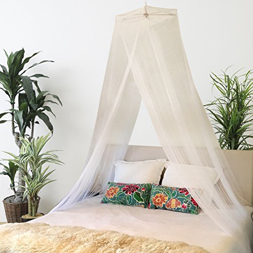 Top bed canopy off white for 2021