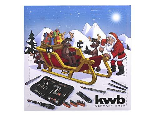 KWB Adventskalender 2018 - Weihnachtskalender für Männer