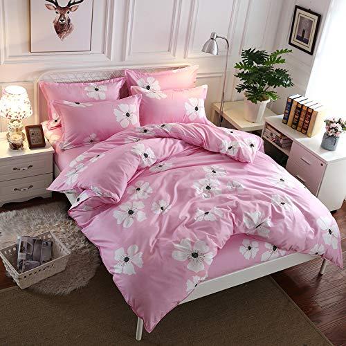 huyiming bed linings Verwendet für Heimtextilien vierteilige Aloe Baumwolle Bettwäsche Student 1,8 m Vierteiliges Set