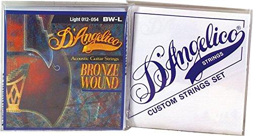 D`Angelico DA BW H Acoustic Bronze Wound Saite