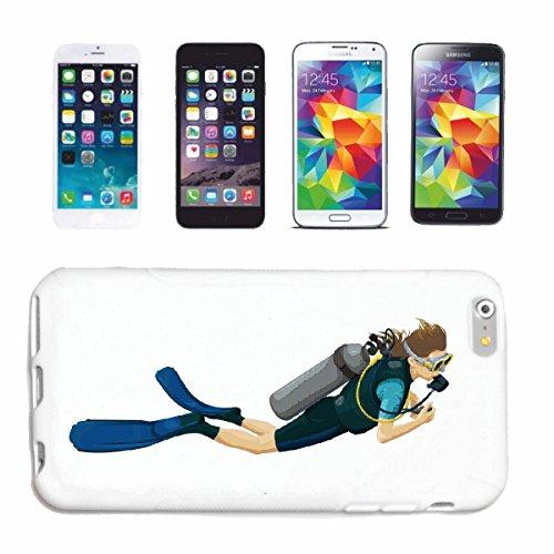 Reifen-Markt Handyhülle kompatibel für iPhone 6 Taucher MIT AUSRÜSTUNG TAUCHEN Taucher TAUCHSPORT Scuba Diving TAUCHAUSRÜSTUNG Hardcase Schutzhülle Handy Cover SMA