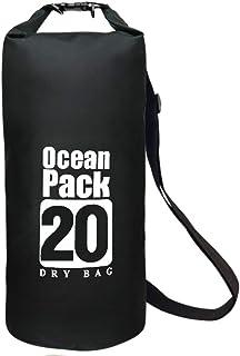E T EASYTAO Bolsa Impermeable, Mochila Plegable Resistente al Agua, Backpack Forma Cubo para Exterior, Capacidad Variable ...
