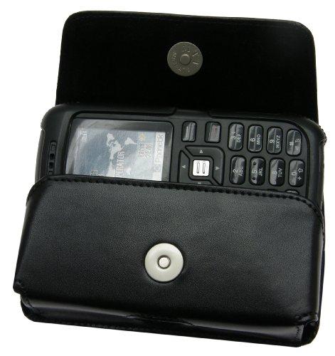 Matiate Original MTT Quertasche für/Sonim XP1 / Horizontal Tasche Ledertasche Handytasche Etui mit Gürtelclip*