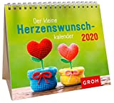 Der kleine Herzenswunschkalender 2020: Mini-Monatskalender - Groh Redaktionsteam