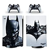 Adventure Games - Batman, Profile - Vinyl Console Skin Decal Sticker + 2 Controller Skins Set - Compatible with PlayStation 5 DIGITAL Edition