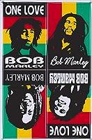 sticker decal ステッカー デカール Bob Marley Music Reggae Jamaica One Love 音楽 ボブ・マーリー レゲエ