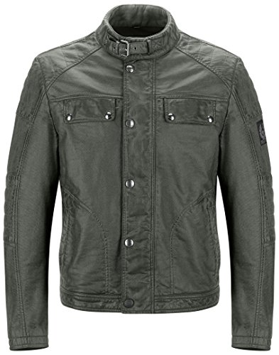 Belstaff Imola/Glen Vine chaqueta–bruñido verde