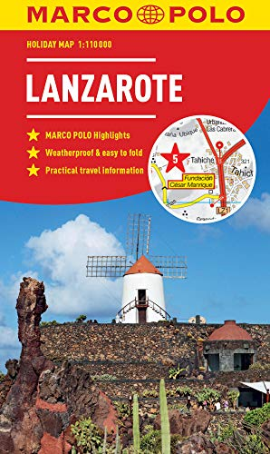 Lanzarote Marco Polo Holiday Map