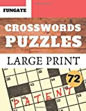 Crosswords Puzzles: Fungate very easy crossword puzzle books for seniors | Classic Vol.72 (Crossword Large Print)