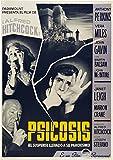 Psycho (1960) Spanish Movie Poster 24'x36'