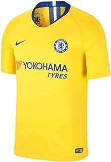 Nike 2018-2019 Chelsea Vapor Away Match Football Soccer T-Shirt Jersey