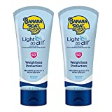 Banana Boat Light As Air, Reef Friendly, Broad Spectrum Sunscreen Lotion, SPF 50, 6oz. - Twin Pack