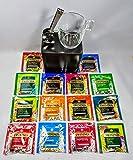 Twinings - Juego de té de pirámide con taza y exprimidor de bolsitas de té