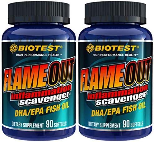 Flameout® DHA/EPA Omega-3 (3080 mg) Fish Oil - 90 Softgels