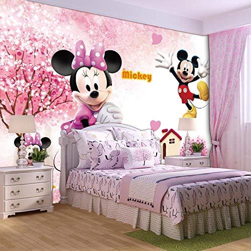 XQJBH Fototapete 3D selbstklebende Tapete Kinder Poster rosa Mädchen Herz Spiel Park niedlich Prinzessin (B) 200x (H) 150cm Hintergrundbild Fotos Kinderzimmer Schlafzimmer Wohnzimmer Wand Hintergrund