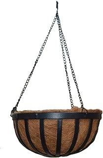 Arcadia 1592 Solstice Round Hanging Basket Planter, 16-Inch
